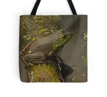 Frog September Tote Bag