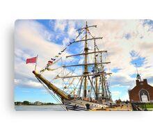 Dawaruci__Tall Ship of Indonesia Canvas Print