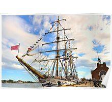 Dawaruci__Tall Ship of Indonesia Poster