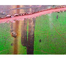 Damage texture Photographic Print