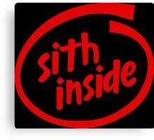Sith Inside Canvas Print