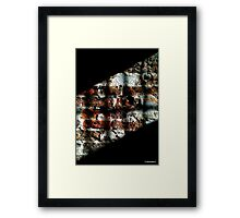 Grated View Framed Print