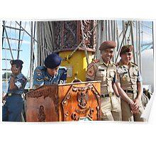 Crew members Poster