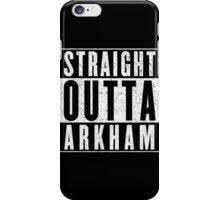 Arkham Represent! iPhone Case/Skin