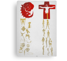 Humans come from Lilith, Angels come from Adam  Canvas Print