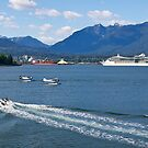 Vancouver Harbour activity. Canada, 2012. by johnrf
