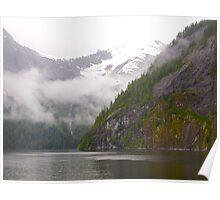 Misty Fiord, Ketchikan,  Alaska, 2012. Poster