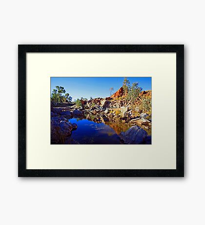 Wiggleys Framed Print