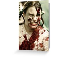 Child of the damned Greeting Card