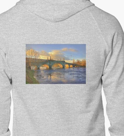 Wade's Bridge at Aberfeldy Zipped Hoodie