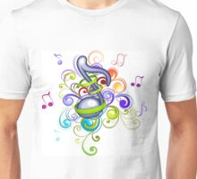 Music in the air Unisex T-Shirt