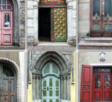 Doors Of Tallinn Sticker