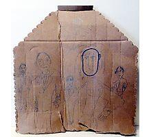 Criminals On Cardboard Photographic Print