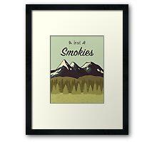 Great Smokies Framed Print