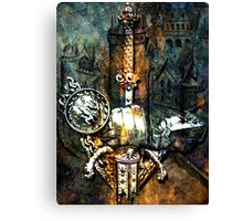 TALES OF CHIVALRY Canvas Print