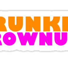 DRUNKIN' GROWNUPS Sticker