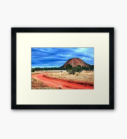 Road to Desert Storm Framed Print