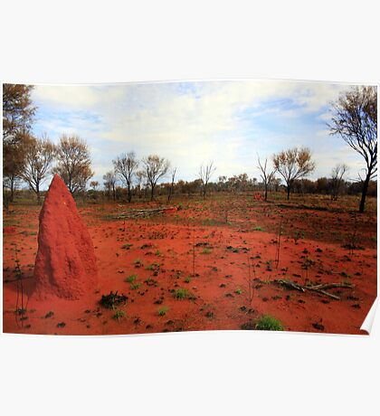 Red Earth Poster