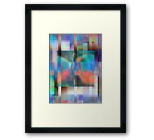 Abstract Composition #2—June 27, 2012  Framed Print