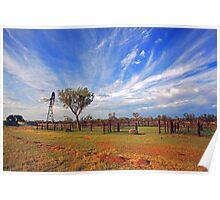 Cattle Yard Poster