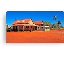 Outback Pub Canvas Print