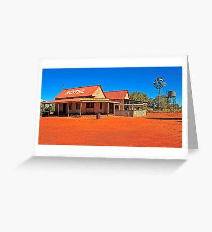 Outback Pub Greeting Card