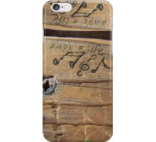 music=life iPhone Case/Skin