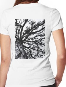 Tree Dream Womens Fitted T-Shirt