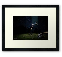 Aduction Framed Print