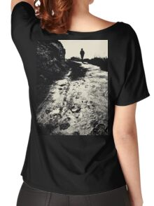 Lonely Walk Women's Relaxed Fit T-Shirt