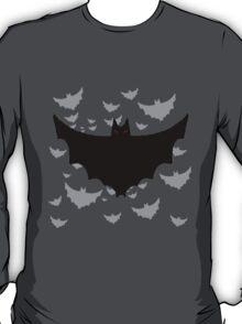 Flying Hoard of Evil Bats T-Shirt