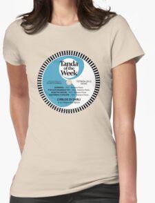 TOTW24/2012 - Di Sarli / Florio - TK - Blue Womens Fitted T-Shirt