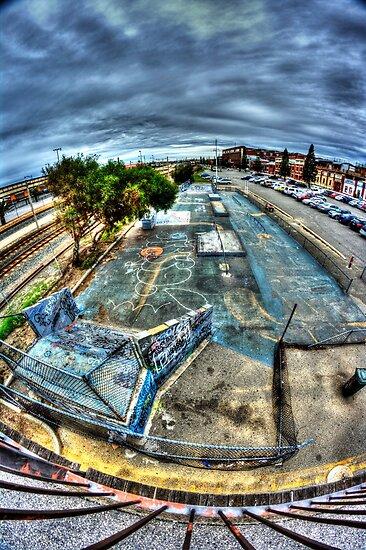 Skate Park by BigAndRed