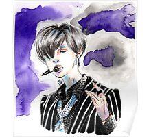 Taemin Purple (태민) 샤이니 Poster
