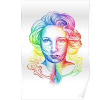 Smoke Feathers Everyday Poster