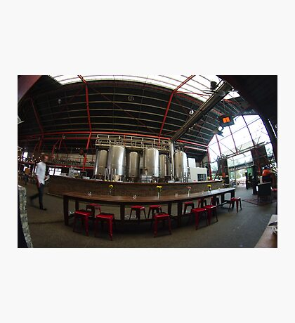 Inside Little Creatures Brewery Photographic Print