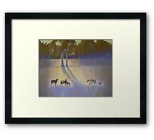 Shadows & Light - Lansdowne Framed Print