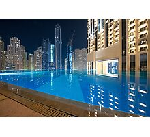 Pool in the Sky Photographic Print