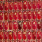 More little prayer tags - neatly arranged by Marjolein Katsma