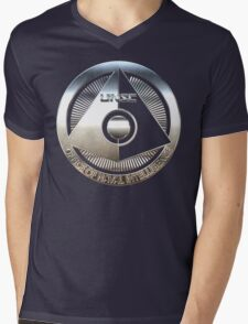 ONI - Halo Metallic Logo Mens V-Neck T-Shirt