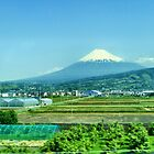 Mount Fuji by Blessedwalnut