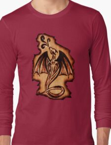 Dragon Flame Long Sleeve T-Shirt