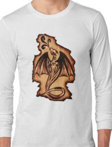 Dragon Flame Long Sleeve T-Shirt