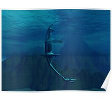OceanOrbiter MkII Poster