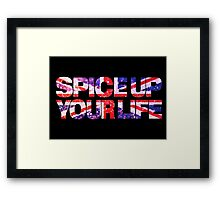 Spice Up your life Framed Print