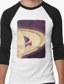 Saturn Child Men's Baseball ¾ T-Shirt