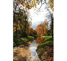 The Catherine Park, Pushkin (Tsarskoe Selo), Saint-Petersburg, Russia Photographic Print