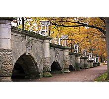 The Catherine Park, Pushkin (Tsarskoe Selo), Saint-Petersburg, Russia Photographic Print