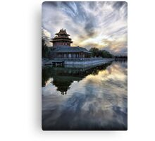 Forbidden City Sunset Canvas Print