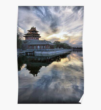 Forbidden City Sunset Poster